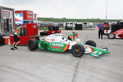 Andretti Green Racing crew members at work
