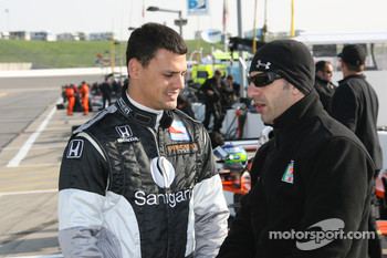Jamie Camara and Tony Kanaan