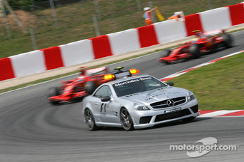 The Mercedes Safety car was called out
