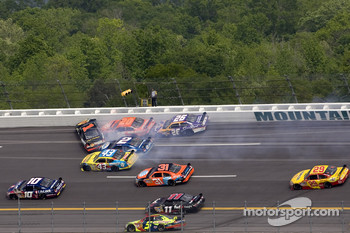 Crash in turn two