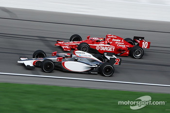 A.J. Foyt IV and Dan Wheldon