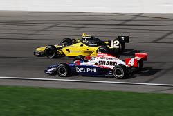 Tomas Scheckter and Vitor Meira