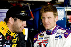 Elliott Sadler and Jamie McMurray