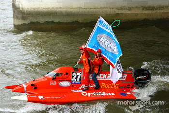 #27 Quicksilver Boat Team: Pierre Charlot, Stphane Lemoine, Pierre-Yves Huon, Tomasz Rosinski