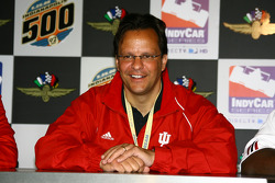 IU basketball coach, Tom Crean, during a press conference