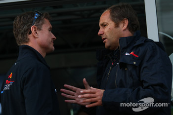 David Coulthard, Red Bull Racing and Gerhard Berger, Scuderia Toro Rosso, 50% Team Co Owner
