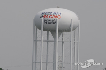The town of Speedway's water tower