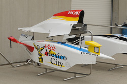 Sidepods to the Mario Dominguez's car