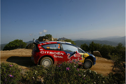 Daniel Sordo and Marc Marti, Citroen Total WRT, Citroen C4