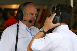 Race engineer of Martin Tomczyk, Audi Sport Team Abt Sportsline, Audi A4 DTM