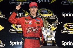 Victory lane: race winner Kasey Kahne