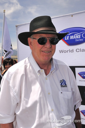 Miller Motorsports Park CEO/General Manager and track designer Alan Wilson