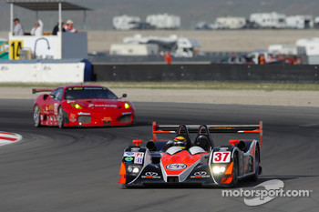 #37 Intersport Racing Lola B06/10 AER: Jon Field, Clint Field, Richard Berry