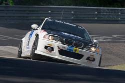 #58 BMW M3 E46: Martina Bossert, Dominik an der Heiden, Matthias Wasel