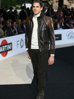 Adrian Sutil, Force India F1 Team Amber Fashion which benefits the  Elton John Aids Foundation