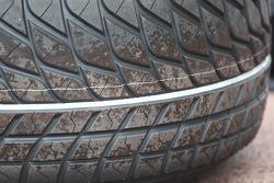 Extreme wet tyre