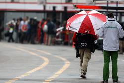 Rain in Monaco