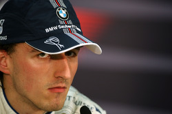 2nd, Robert Kubica,  BMW Sauber F1 Team