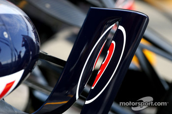 Red Bull Racing RB04 wing detail