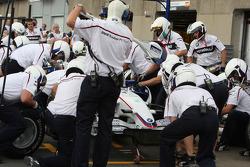 BMW Sauber F1 Team, F1.08, Pitstop Practice