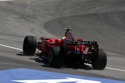 Felipe Massa, Scuderia Ferrari, runs wide