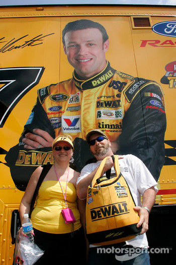 Fans of Matt Kenseth