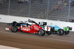 Scott Dixon, Marco Andretti and Ryan Hunter-Reay