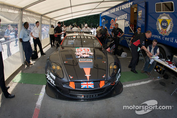 #59 Team Modena Aston Martin DBR9 at scrutineering