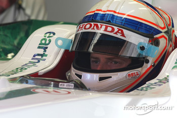 Anthony Davidson, Test Driver, Honda Racing F1 Team