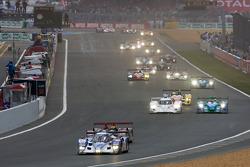 Start: #10 Charouz Racing System Lola Aston Martin: Jan Charouz, Stefan Mücke, Tomas Enge