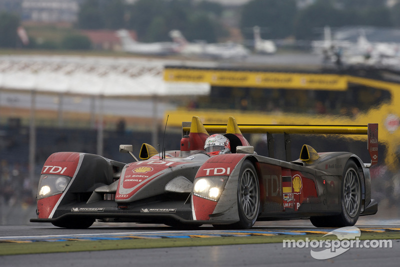 #2 Audi Sport North America Audi R10: Allan McNish, Tom Kristensen, Rinaldo Capello