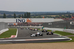 Pace lap: Robert Kubica, BMW Sauber F1 Team
