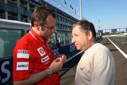 Stefano Domenicali, Scuderia Ferrari, Sporting Director, Jean Todt, Scuderia Ferrari, Ferrari CEO