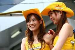 The lovely Yellowhat girls