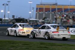 #74 GTS Racing with Mitchum Motorsports Porsche GT3 Cup: Bransen Patch, Joseph Safina, Derek Skea