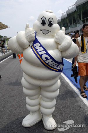 Michelin's Mr Binbendum