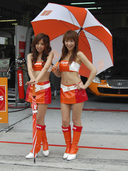The lovely GT Race Queens