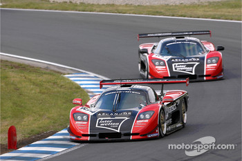 #103 GTO Charouz Racing Mosler MT 900: Adam Lacko, Ales Jirasek, #104 GTO Charouz Racing Mosler MT 900: Kenneth Heyer, Stepan Vojtech