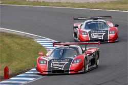 #103 GTO Charouz Racing Mosler MT 900: Adam Lacko, Ales Jirasek, #104 GTO Charouz Racing Mosler MT 900: Kenneth Heyer, Stepan Vojtech