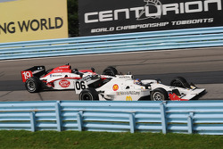 Graham Rahal and Mario Moraes