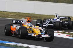 Fernando Alonso, Renault F1 Team and Nico Rosberg, WilliamsF1 Team
