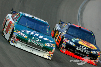 Dale Earnhardt Jr. and Martin Truex Jr.