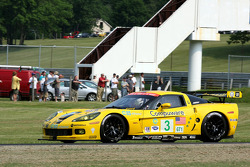 #3 Corvette Racing Chevrolet Corvette C6R: Johnny O'Connell, Jan Magnussen