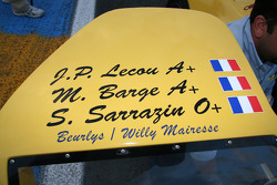#42 Ford GT40 1968: Jean-Pierre Lecou, Michel Barge