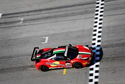 #208 Ferrari of Fort Lauderdale Ferrari 458 during the shakedown