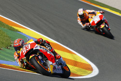 Marc Marquez and Dani Pedrosa, Repsol Honda Team