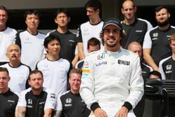 费尔南多·阿隆索,迈凯伦车队,车队合影