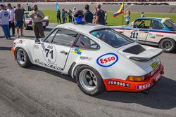 Classic Porsche on the grid