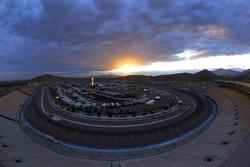 Sunrise over the track