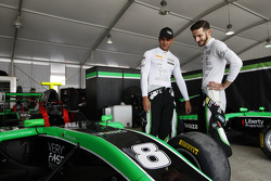 Sandy Stuvik, Status Grand Prix and Alex Fontana, Status Grand Prix